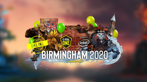 2020 ESL One Birmingham Online EU and CIS - logo