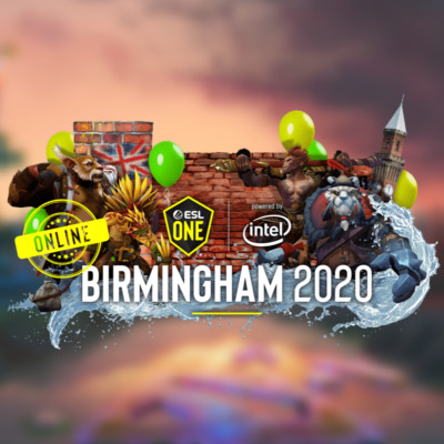 2020 ESL One Birmingham Online EU and CIS