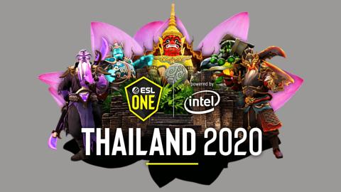 2020 ESL One Thailand Asia - logo