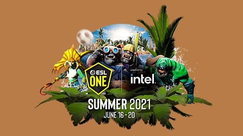 2021 ESL One Summer logo