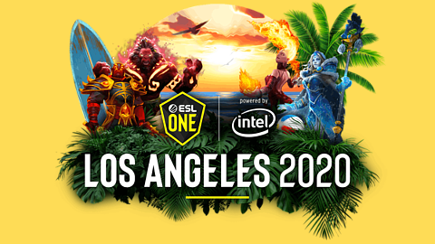 2020 ESL One Los Angeles - logo