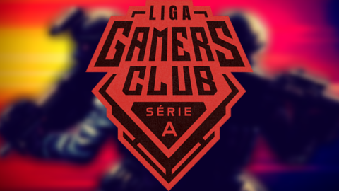 2021 Gamers Club Liga Série A: August logo