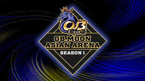 2021 OB Moon Asian Arena logo