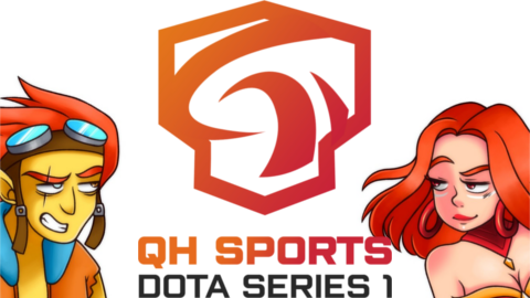 2021 QH Sports Dota logo