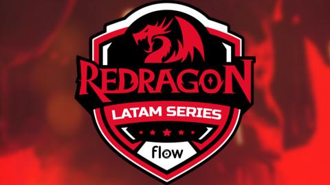 2021 Redragon Latam Series Season 1 logo