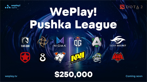 WePlay! Pushka League - logo