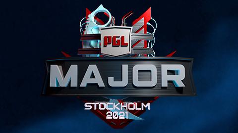 2021 PGL Major Stockholm logo