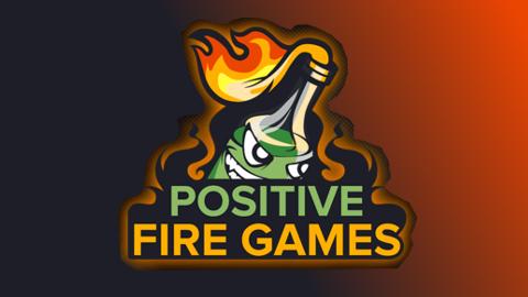 2021 Positive Fire Games logo