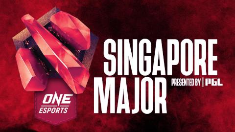 2021 One Esports Singapore Major logo