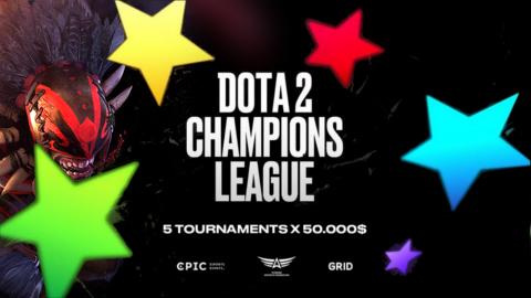 2021 Dota 2 Champions League S3 logo